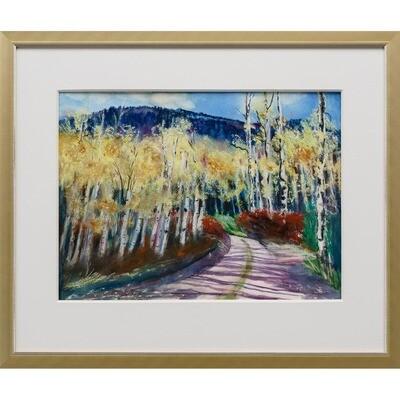 Aspen Trees -- Joan Frey
