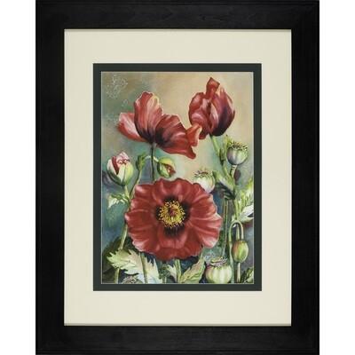 Three Poppies -- Sandi McGuire