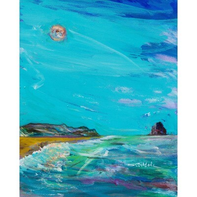Moonlight at the Beach -- Forrest Goldade