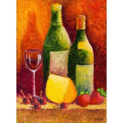 Wine & Fruits -- Leanna Leitzke
