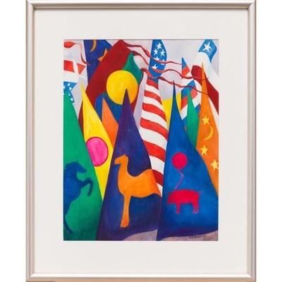 Banner Day -- Nancy R Bradley