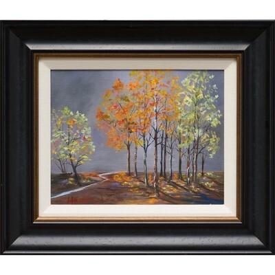 Foggy Fall -- Lois Haskell