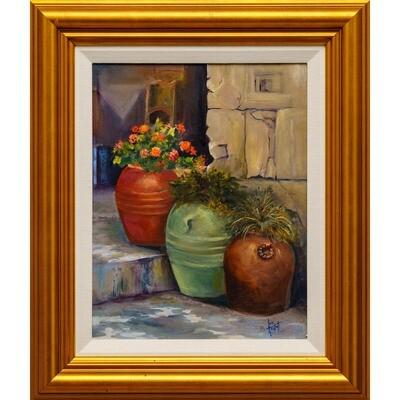 Italian Urns -- Lois Haskell