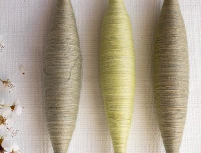 Cachemire extra-fin teinté main - combo 3 bobines - env. 54g/1890m