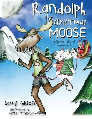 Randolph the Christmas Moose