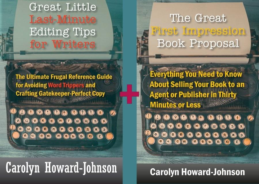Editing Tips + Book Proposal