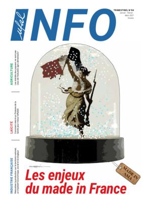 Ufal INFO n°84, magazine -  Les enjeux du made in France