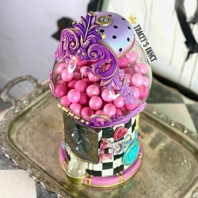 **LOCAL PICKUP ONLY** Fancy CUSTOM Gumball Machines