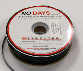 "NO Days Glaze, 9/64"" Width, Black, 100 Linear Ft"