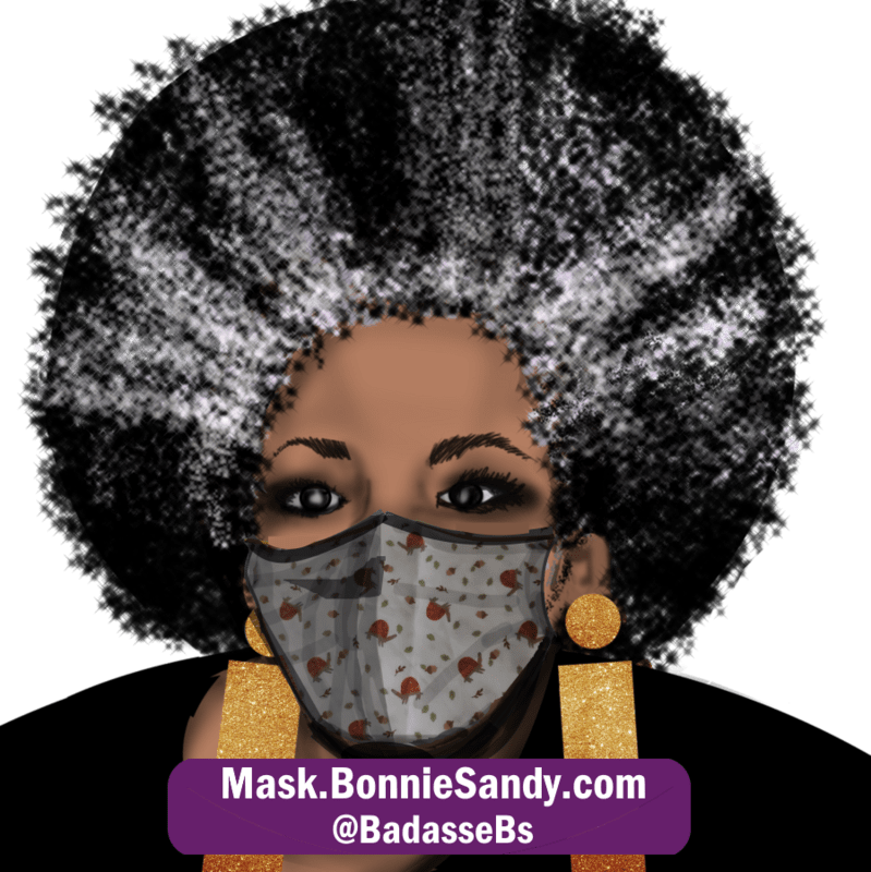 Acorn Whimsy Face Cover Mask