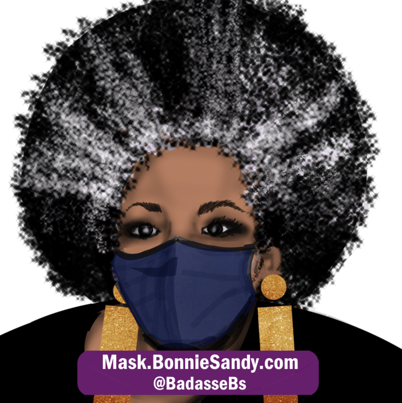 Denim Face Cover Mask