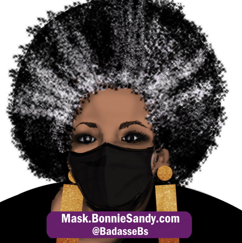 Gun Metal Black Face Cover Mask