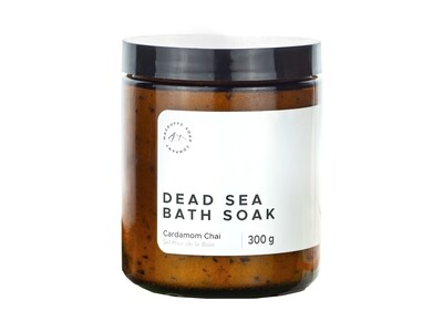 Cardamom Chai Dead Sea Bath Soak