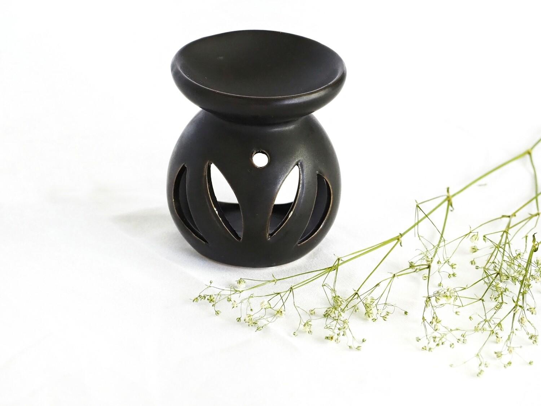Ceramic Diffuser + Wax Melter - Matte Black