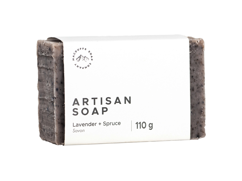 Lavender + Spruce Bar Soap