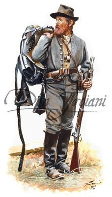 Troiani North Carolina Cavalryman
