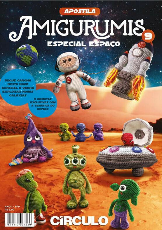 Revista Amigurumi - Especial Espacio (Producto Digital)