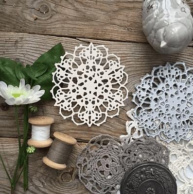 MIMICUT Metal Die Crocheted II