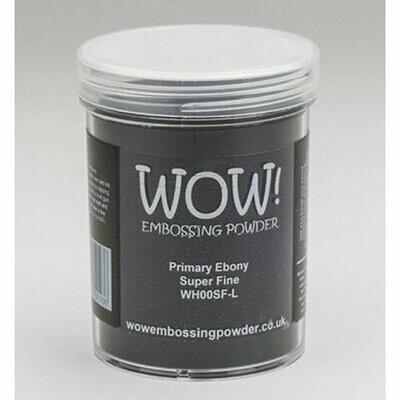 WOW Embossing Powder Primary Ebony WH00SF-L 160 ml