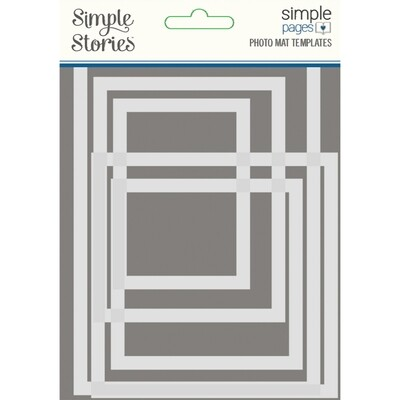 Simple Pages Photo Mat Templates