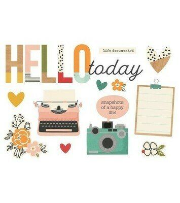 Simple Pages Page Pieces HELLO TODAY