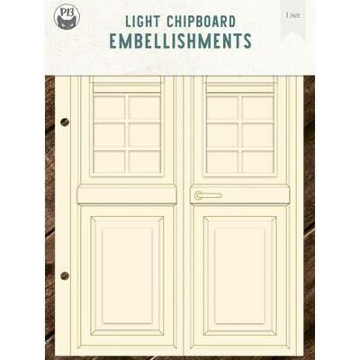 P13 Light Chipboard Album Base DOORS