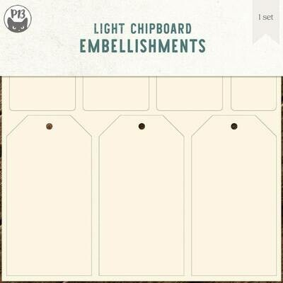 P13 Light Chipboard COLLECTION TAGS 03