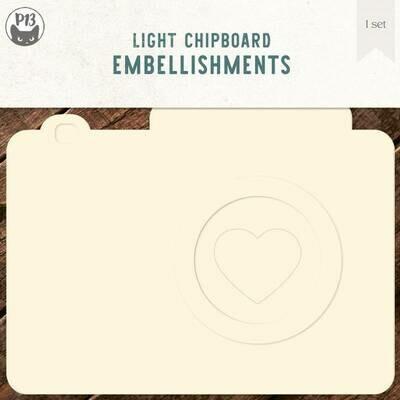 P13 Light Chipboard Album Base PHOTO