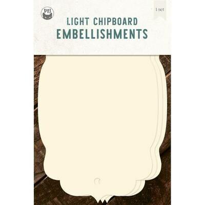 P13 Light Chipboard Album Base TAGS 04