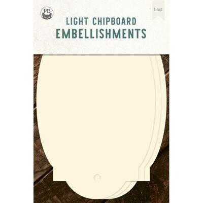 P13 Light Chipboard Album Base TAGS 05