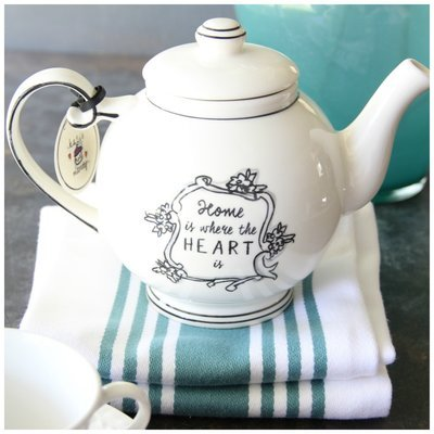 Home Is Where The Heart Is Teapot