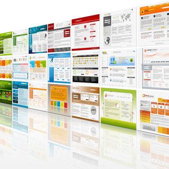 Webseite mit WEB CONTENT MANAGEMENT mit CMS, SSL-Verschlüsselung Paket Standard