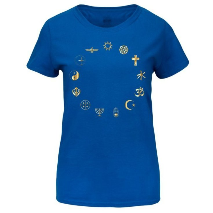 Equality Secular Symbols Women's Basic T-shirt Medium
