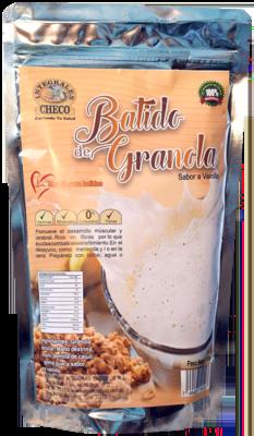 Batido de Granola Sabor a Vainilla y Chocolate de (340g.)