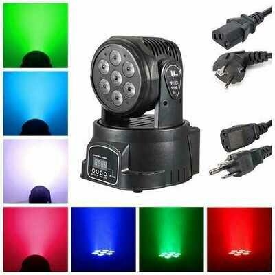 LED Sound Active DMX Lighting RGBW Light Effect Club Disco Party Christmas Decor