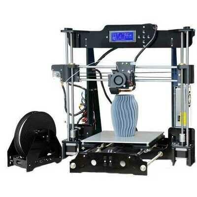 TRONXY P802M DIY 3D Printer Kit 220*220*240mm Printing Size Support Off-line Print 1.75mm 0.4mm