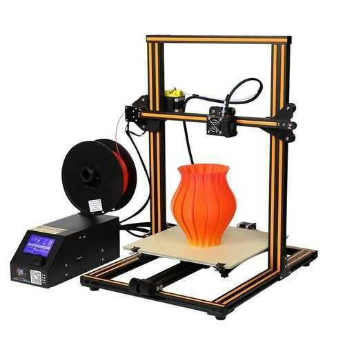 Creality 3D CR-10 DIY 3D Printer Kit 300*300*400mm Printing Size 1.75mm 0.4mm Nozzle