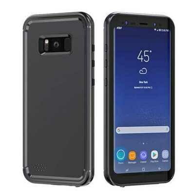 Swimming Waterproof Snowproof Hard PC Case for Samsung Galaxy S8 Plus
