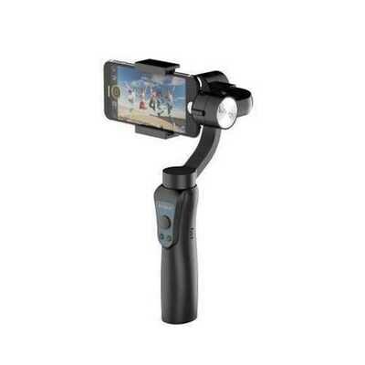 Jcrobot S5 3-Axis Handheld bluetooth Gimbal Stabilizer For Smartphones & GoPro Hero Action Camera