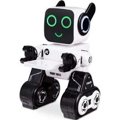 K3 Programmable Touch & Sound Control Piggy Sing Dance Robot-White