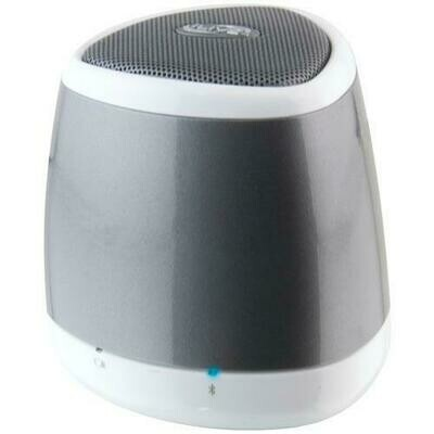 iLive Blue iSB23S Portable Bluetooth Speaker (Silver)