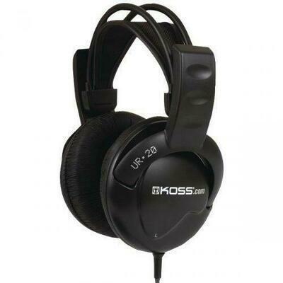 Koss Ur20 Full-size 44 Over-the-ear Headphones (pack of 1 Ea)