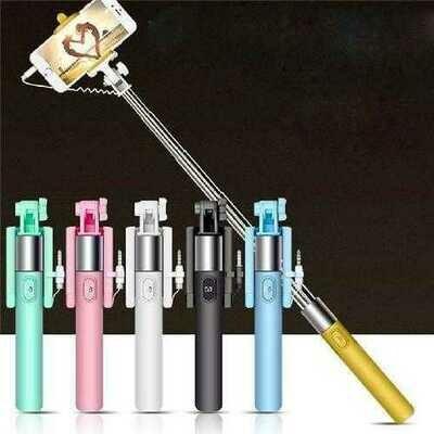 Selfie Stick Extendable Handheld Self-portrait Holder Monopod Stick For Cell Phone Jul14 Professional Drop Shipping