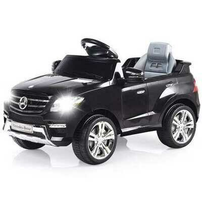 6V Mercedes Benz Kids Ride on Car with MP3+RC-Black