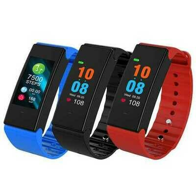 T2 Plus 0.96 Inch Colorful OLED bluetooth 4.0 Heart Rate Blood Pressure Smart Wristband