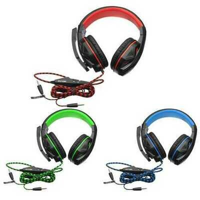 OVANN X2 3.5mm Stereo Headset with Microphone Volume Control for PC GAMING