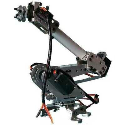 6DOF Mechanical Robot Arm Claw With Servos For Robotics  DIY Kit