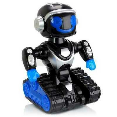 Vivitar Interactive Action Dancing Robot in Black and Blue