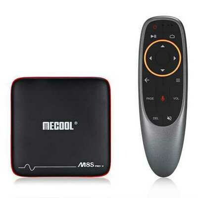 Mecool M8S PRO W S905W 1GB RAM 8GB ROM TV Box with Android TV OS Support Voice Input Control