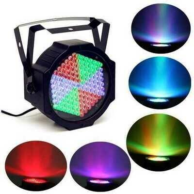 25W 127 LED Full Color RGB Color Stage Par Light Bar KTV Chrimstmas